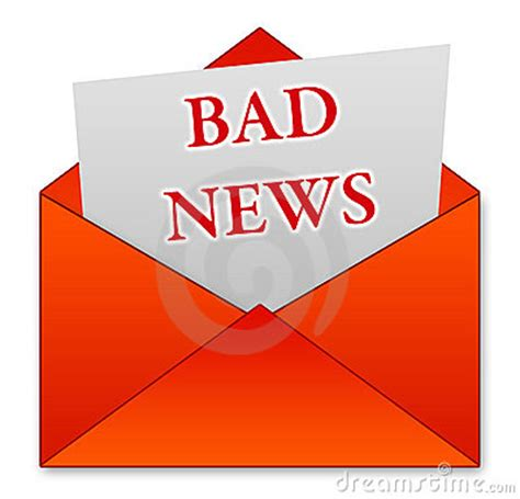 bad news royalty  stock images image