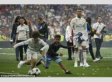 Cristiano Ronaldo Jnr shows off his brilliant skills