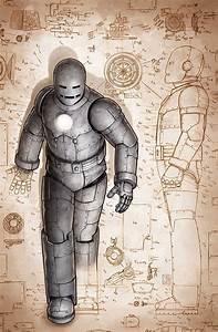 Iron Man Armour - Mod I Mk  Ii - Gray Armor