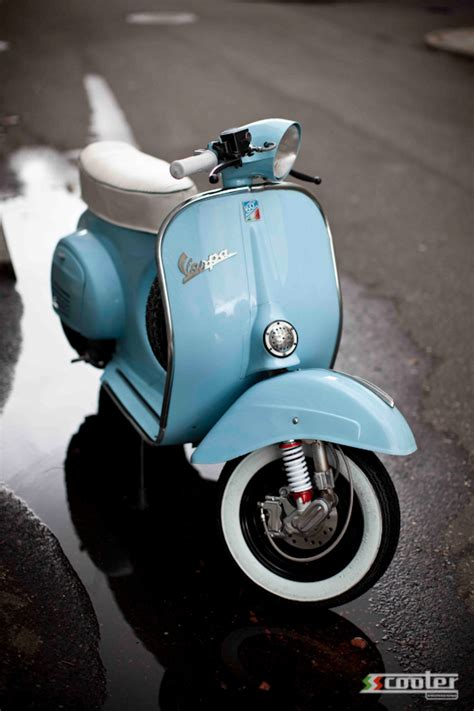 Vespa With Sky Blue Wallpaper by Ssscooter Vespa Small Frame 1 S S Scooter Engineering