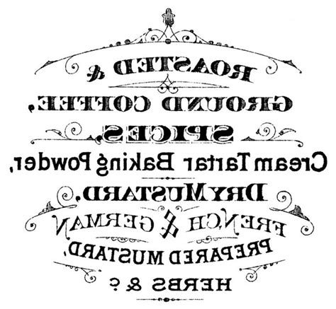 french typography  printables images