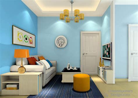 Living Room Blue Walls : Blue Walls Living Room