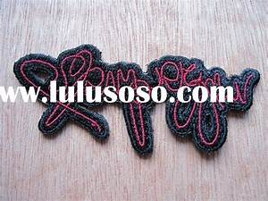 Custom clothing labels for sale pricechina manufacturer for Embroidered tags personalized