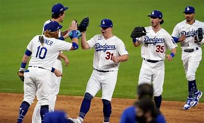 Dodgers Win Championship League National Angeles
