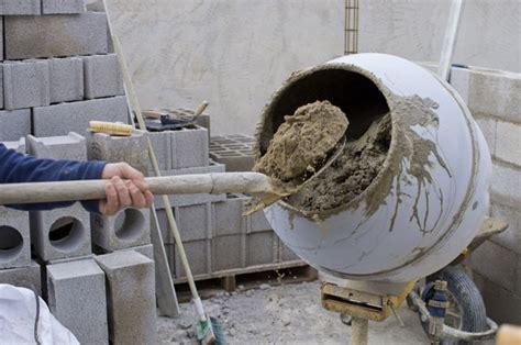 Beton Estrich Selber Mischen by Beton Mischen Mischungsverh 228 Ltnis Co