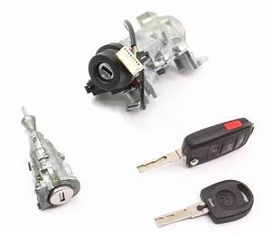 Lock Set Ignition Cylinder Door  U0026 Key Vw Jetta Rabbit Gti