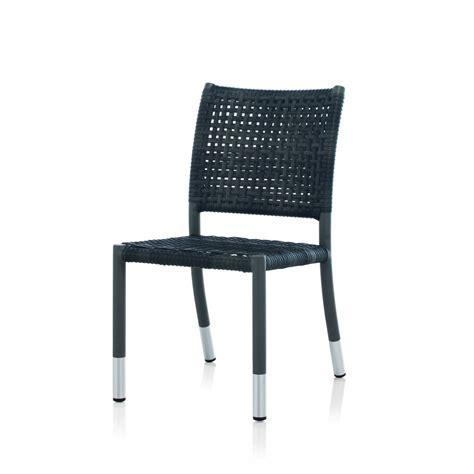 chaise de chaise de jardin en résine tressée brin d 39 ouest