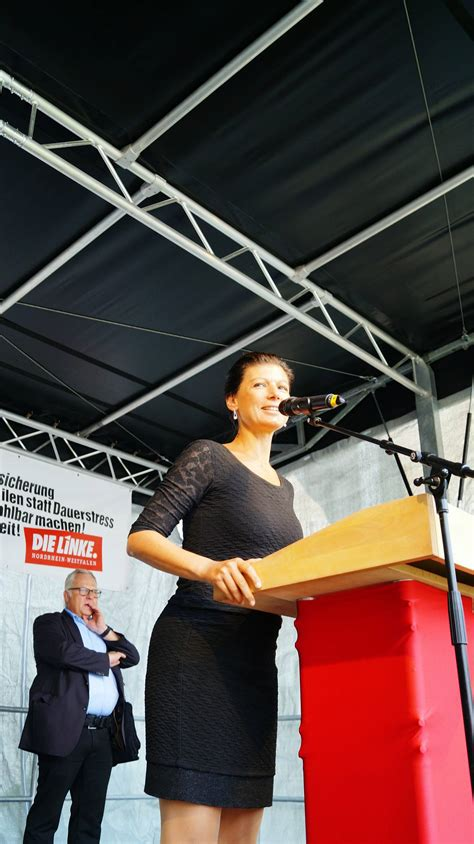 Sahra wagenknecht is a member of the german bundestag and vice president of left party and of left parliamentary group. Voller Erfolg für die Wahlkampfveranstaltung und ...