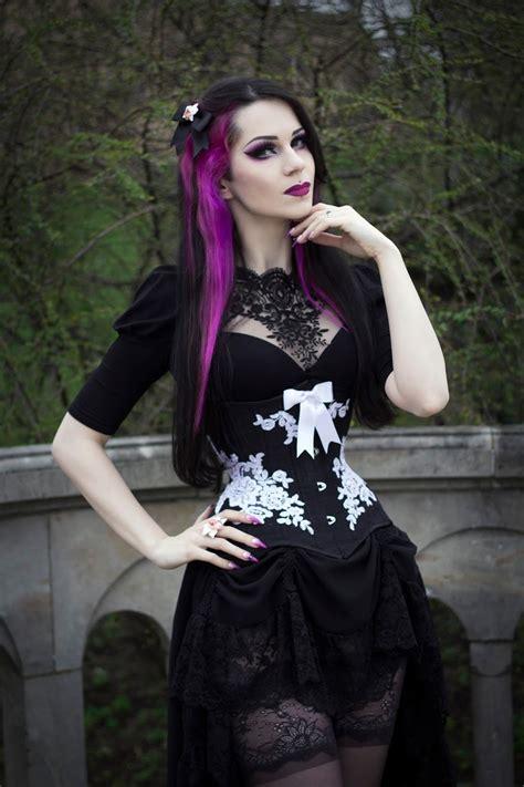 model milena grbovic gothic  amazing
