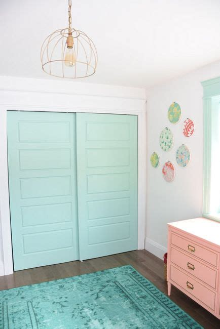 Mint Curtains For Nursery by Best 25 Painted Bedroom Doors Ideas On