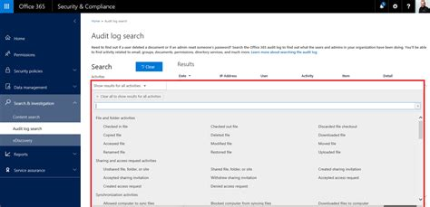 Office 365 Outlook Search by Office 365 Audit Log Search Slashadmin In It