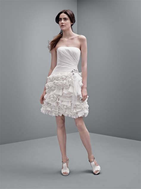White By Vera Wang Wedding Dress Collection Popsugar