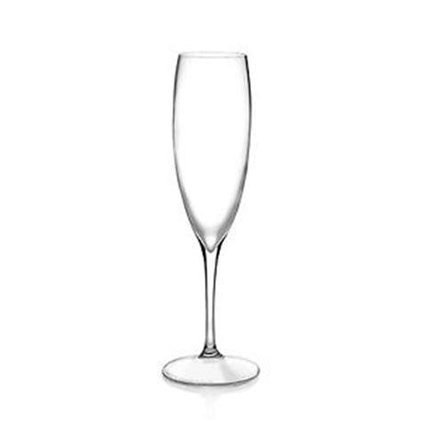 bicchieri flute vetro set bicchieri calici 6 pezzi rcr cristalleria italiana
