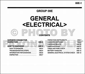 Mitsubishi Outlander Wiring Diagram Manual Original