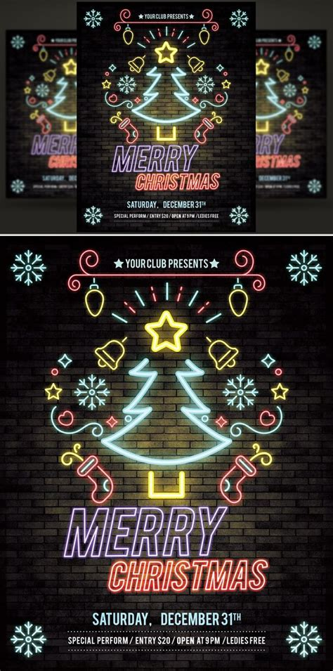 stylish  year flyer templates   images