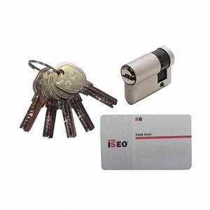 Cylindre De Sécurité : demi cylindre europ en de s curit tech 6 cl d 39 or ~ Edinachiropracticcenter.com Idées de Décoration