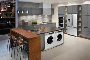 compact laundry machines perfect for apartments with With kitchen cabinet trends 2018 combined with sticker maker machine