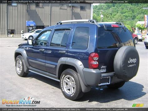 jeep renegade dark blue 2005 jeep liberty renegade 4x4 patriot blue pearl dark