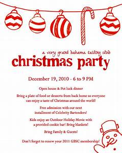 christmas party invitation letter fun for christmas With christmas party invitation letter
