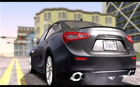 Maserati Ghibli Modification by Gta San Andreas Maserati Ghibli 2014 Mod Gtainside