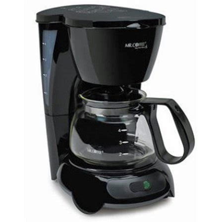 Ready to become your very own barista? Mr. Coffee TF5-099-500 4-CUP Coffee Maker (BLACK) - Walmart.com