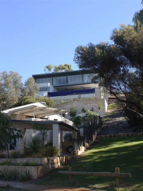 The Steep Hillside House