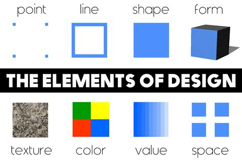 elements of design onlinedesignteacher