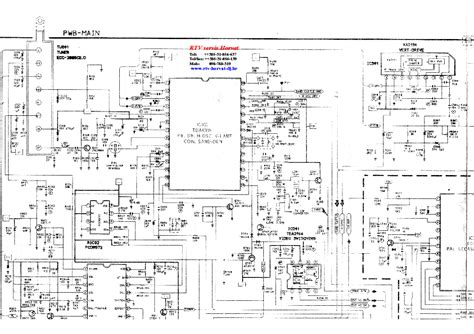 samsung ck tv service manual  schematics