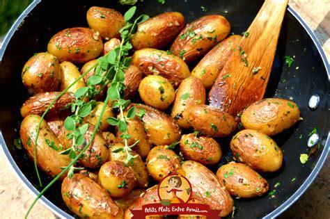pommes de terre grenaille sautées petits plats entre amis