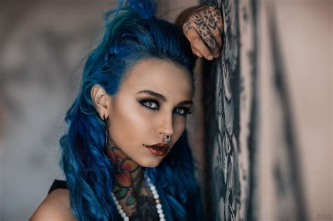 Fishball Suicide Felisja Piana Women Dyed Hair