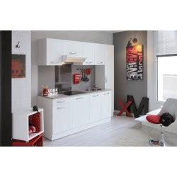 recherche cuisine equipee cuisine équipée moderne blanche 1er prix panel meuble