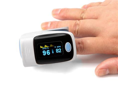 Oled Digital Fingertip Pulse Oximeter Heart Rate Monitor