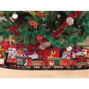 amazon com santa s north pole express christmas train 27 piece train set toys games