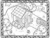Coloring Drawing Animalcrossing Into sketch template