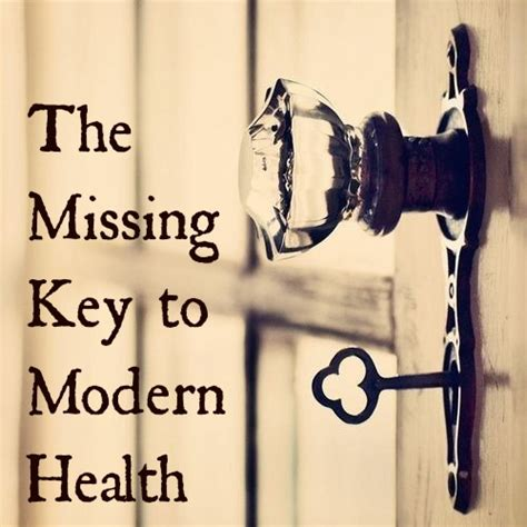 The Missing Key To Modern Health  Revived Kitchen