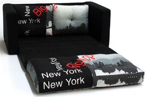 canape york canape lit deplimousse tissu york noir