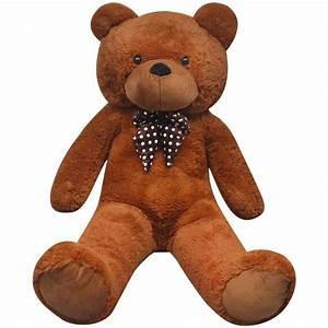 Ours En Peluche Xxl : la boutique en ligne ours en peluche doux xxl 175 cm marron ~ Teatrodelosmanantiales.com Idées de Décoration