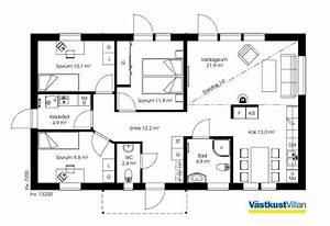 Atrium Bungalow Grundrisse : schwedenhaus eingeschossig skandihaus 95 grundriss bungalows ~ Bigdaddyawards.com Haus und Dekorationen