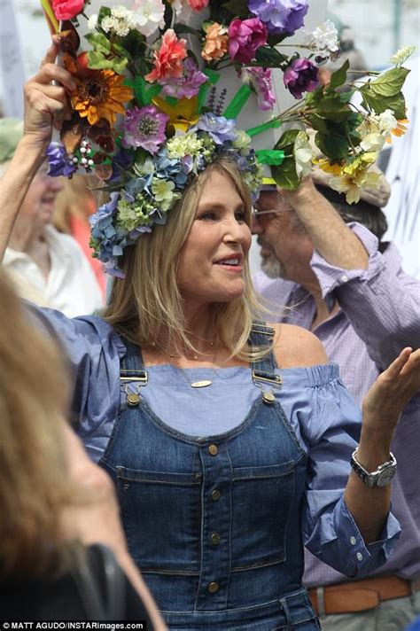 Christie Brinkley at People's Climate Change March | Daily ...