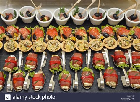 canape stock canapes snacks finger stock photos canapes snacks finger
