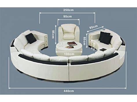 canape cuir relax but canapé rond alicante pop design fr