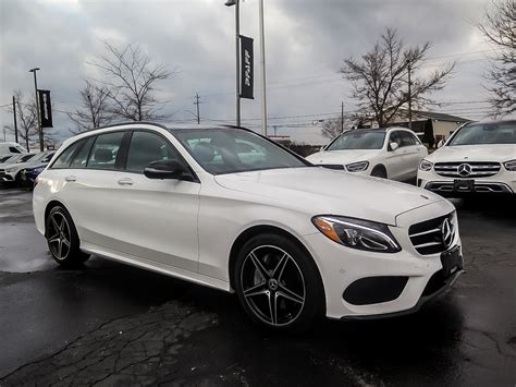 The sedan models now have a power moonroof. Certified Pre-Owned 2018 Mercedes-Benz C300 4MATIC Wagon Wagon in Kitchener #K3944 | Mercedes ...