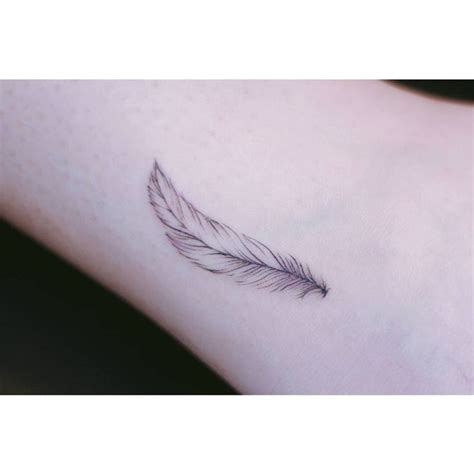 feather tattoo wrist ideas  pinterest feather