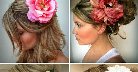 Interesting Hawaiian Flower Hairstyles