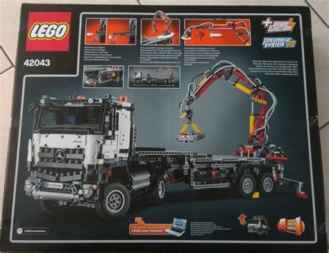 lego technic mercedes review lego technic 42043 mercedes arocs