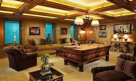 This Underground Game Room Is Certainly Luxurious With