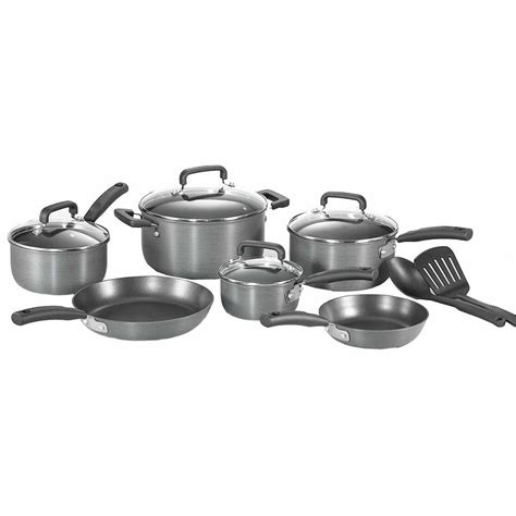 t fal signature 12 anodized non stick cookware