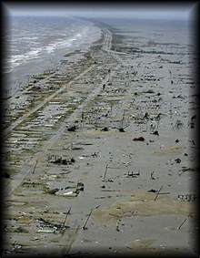 Hurricane Rita Holly Beach Louisiana