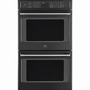 GE Cafe 30 In Double Electric Smart Wall Oven Self