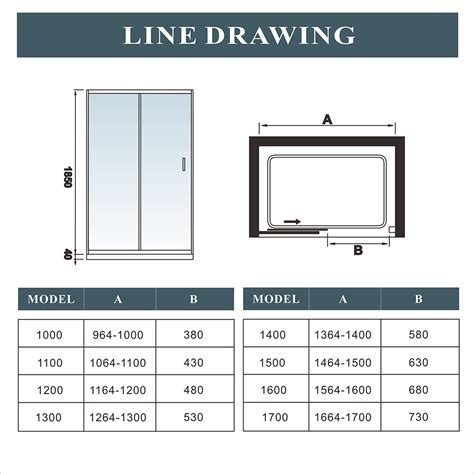 single sliding walk in shower enclosure screen door